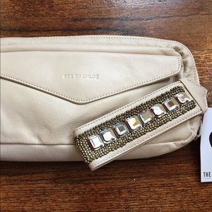 See by Chloe leather pochette clutch